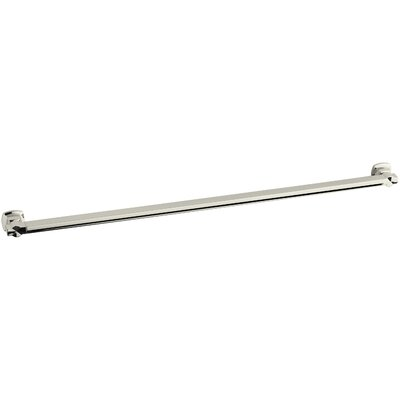 Margaux Grab Bar Finish: Vibrant Polished Nickel, Length: 14.5