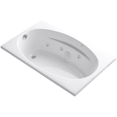 Proflex 60 x 36 Air / Whirlpool Bathtub Finish: White