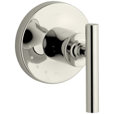 Purist Valve Trim with Lever Handle for Volume Control Valve Finish: Vibrant Polished Nickel K-T14490-4-SN