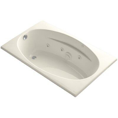 Proflex 60 x 36 Whirlpool Bathtub Finish: Almond