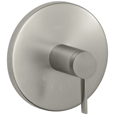 Stillness Valve Trim with Lever Handle for Thermostatic Valve Finish: Vibrant Brushed Nickel
