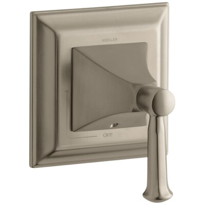 Memoirs Stately Valve Trim with Lever Handle for Volume Control Valve Finish: Vibrant Brushed Bronze