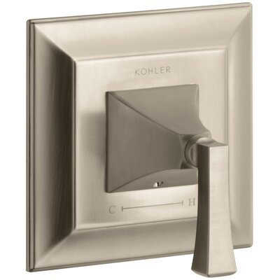 Memoirs Stately Valve Trim with Deco Lever Handle for Thermostatic Valve Finish: Vibrant Brushed Bronze