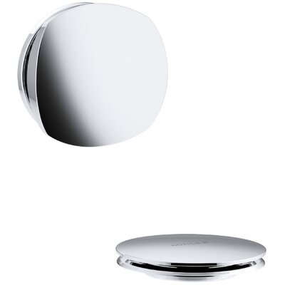 PureFlo Rotary Turn Bath Drain Trim Finish: Polished Chrome