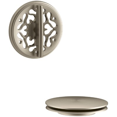 PureFlo Victorian Rotary Turn Bath Drain Trim Finish: Vibrant Brushed Bronze