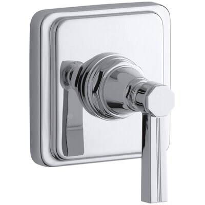 Pinstripe Transfer Shower Faucet with Lever Handle Finish: Polished Chrome