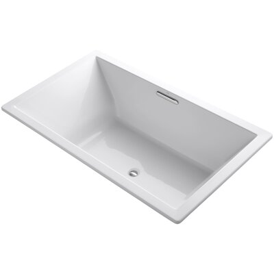 Underscore 72 x 42 Soaking Bathtub Finish: White