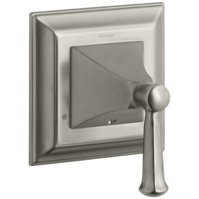 Memoirs Stately Valve Trim with Lever Handle for Transfer Valve Finish: Vibrant Brushed Nickel K-T10424-4S-BN