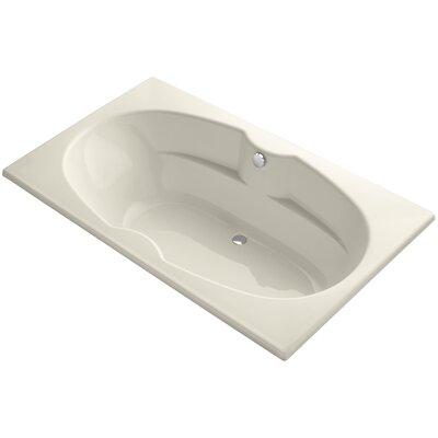 Proflex 72 x 42 Soaking Bathtub Sink Finish: Almond