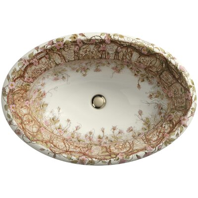 Centerpiece Tale Of Briar Self Rimming Bathroom Sink