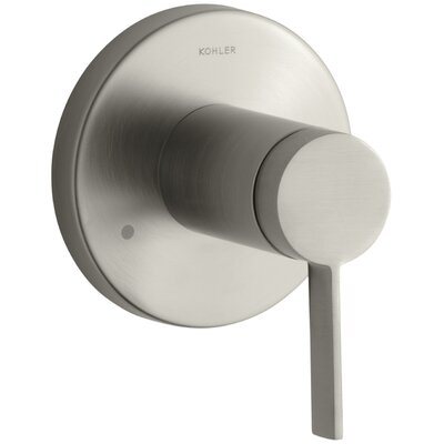 Stillness Valve Trim with Lever Handle for Transfer Valve Finish: Vibrant Brushed Nickel K-T10944-4-BN