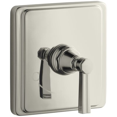 Pinstripe Valve Trim with Lever Handle for Thermostatic Valve, Requires Valve Finish: Vibrant Polished Nickel