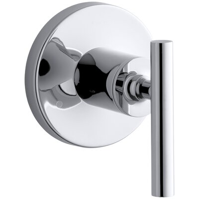 Purist Valve Trim with Lever Handle for Transfer Valve Finish: Polished Chrome