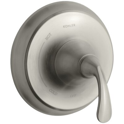 Fort� Sculpted Valve Trim for Rite-Temp Pressure-Balancing Valve Finish: Vibrant Brushed Nickel