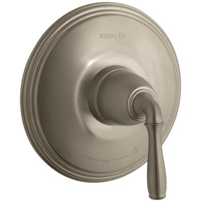 Devonshire Valve Trim for Thermostatic Valve with Lever Handle, Requires Valve Finish: Vibrant Brushed Bronze