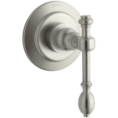 Iv Georges Brass Valve Trim for Transfer Valve with Lever Handle, Requires Valve Finish: Vibrant Brushed Nickel K-T10682-4-BN