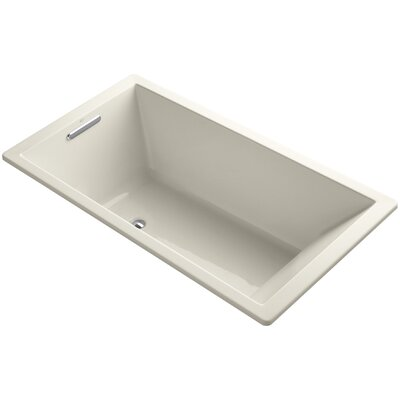 Underscore 66 x 36 Soaking Bathtub Finish: Almond
