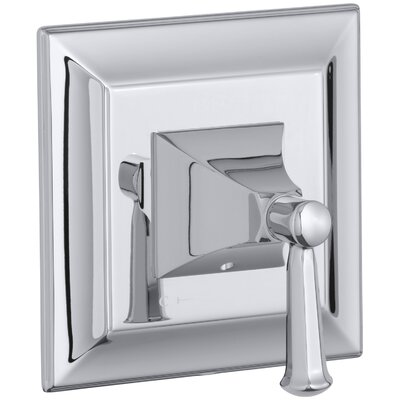 Memoirs Stately Valve Trim with Lever Handle for Thermostatic Valve Finish: Polished Chrome