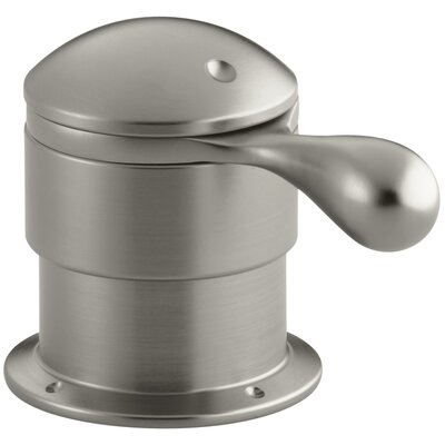 Deck-Mount Trim for Transfer Valve/Vacuum Breaker with Lever Handle Finish: Vibrant Brushed Nickel K-T9540-4-BN