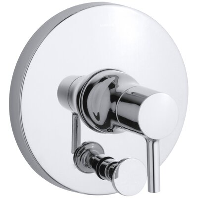 Toobi Rite-Temp Valve Trim with Diverter, Valve Not Included Finish: Polished Chrome