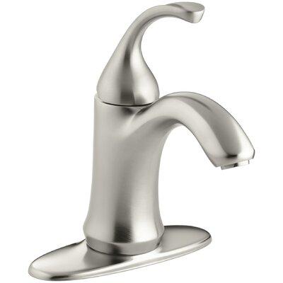 Fort� Single-Hole Bathroom Sink Faucet Finish: Vibrant Brushed Nickel