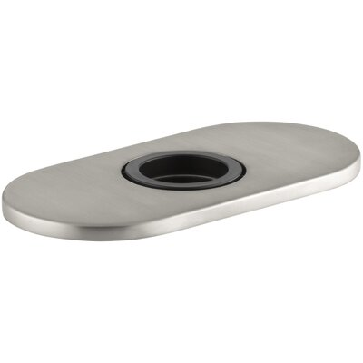 Optional Escutcheon Round Plate for Insight Faucet Finish: Vibrant Stainless