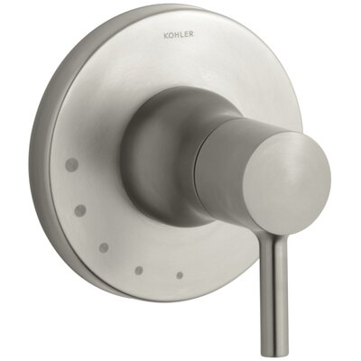 Toobi Volume Control Valve Trim, Valve Not Included Finish: Vibrant Brushed Nickel K-T8983-4-BN