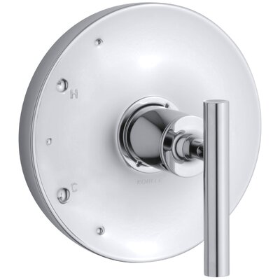 Purist Valve Trim with Lever Handle for Rite-Temp Pressure-Balancing Valve Finish: Polished Chrome