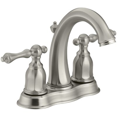 Kelston Centerset Bathroom Sink Faucet Finish: Vibrant Brushed Nickel