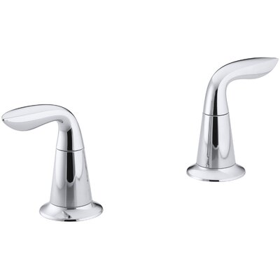 Refinia Lever Handles Valve Trim, Valve Not Included Finish: Polished Chrome