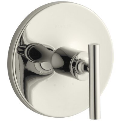 Purist Valve Trim with Lever Handle for Thermostatic Valve Finish: Vibrant Polished Nickel