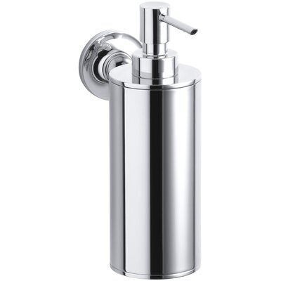 Purist Wall Mount Soap Dispenser K-14380-CP