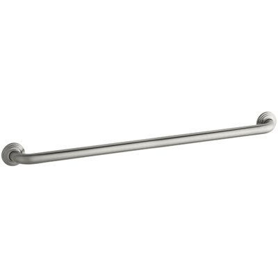 Traditional Ada Compliant Grab Bar Finish: Brushed Stainless