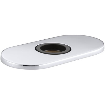 Optional Escutcheon Round Plate for Insight Faucet Finish: Polished Chrome