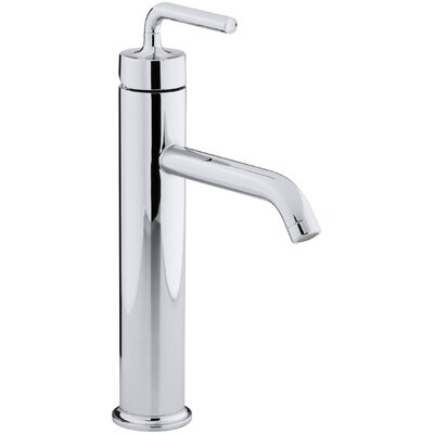 Purist Single hole Single Handle Bathroom Faucet with Drain Assembly Finish: Polished Chrome