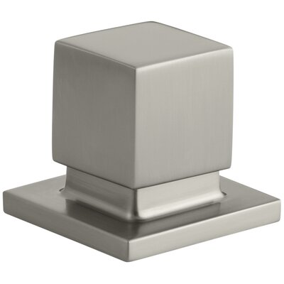 Loure Deck-Mount 2-Way Diverter Valve Finish: Vibrant Brushed Nickel K-14677-BN