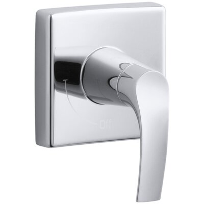 Symbol Valve Trim with Lever Handle for Volume Control Valve, Requires Valve Finish: Polished Chrome