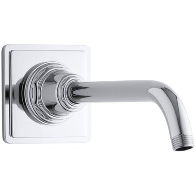 Pinstripe Showerarm and Flange Finish: Polished Chrome