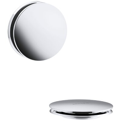 PureFlo Contemporary Bath Drain Trim Finish: Polished Chrome