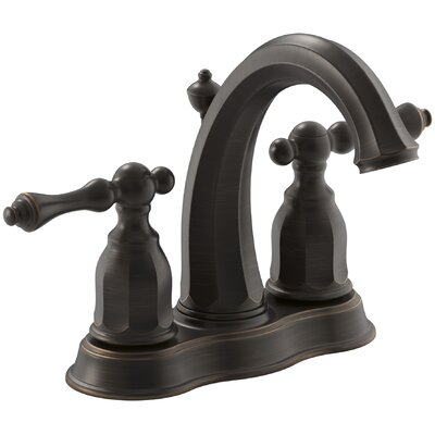 Kelston Centerset Bathroom Sink Faucet Finish: Oil-Rubbed Bronze