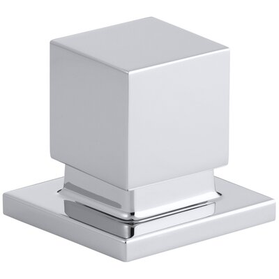 Loure Deck-Mount 2-Way Diverter Valve Finish: Polished Chrome