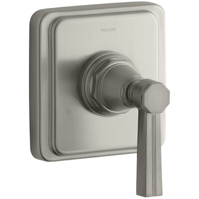 Pinstripe Transfer Shower Faucet with Lever Handle Finish: Vibrant Brushed Nickel