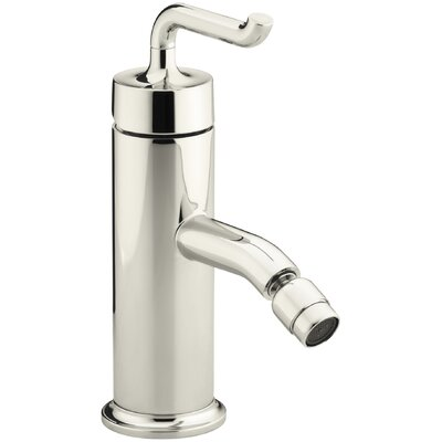 Purist Horizontal Swivel Spray Areator Bidet Faucet with Smile Design Handle Finish: Vibrant Polished Nickel