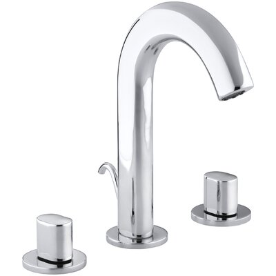 Oblo Widespread Bathroom Sink Faucet Finish: Polished Chrome