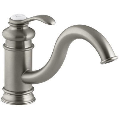 Fairfax Single-Hole Kitchen Sink Faucet with 9 Spout Finish: Vibrant Brushed Nickel