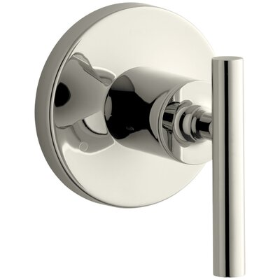 Purist Valve Trim with Lever Handle for Transfer Valve Finish: Vibrant Polished Nickel