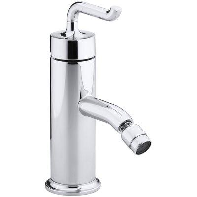 Purist Horizontal Swivel Spray Areator Bidet Faucet with Smile Design Handle Finish: Polished Chrome