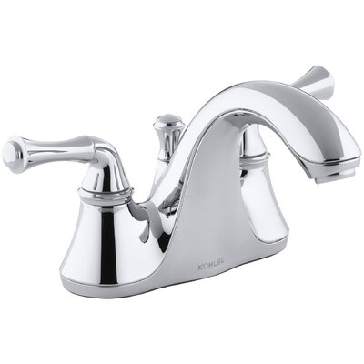 Fort� Centerset Bathroom Sink Faucet with Traditional Lever Handles Finish: Polished Chrome