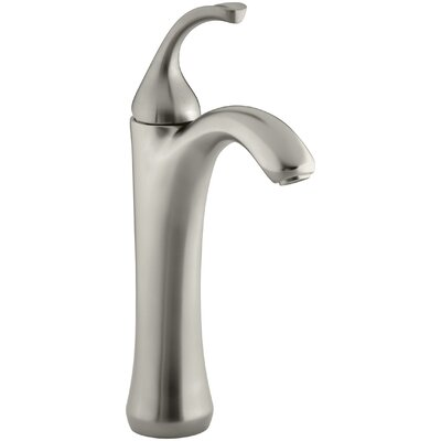 Fort� Single hole Single Handle Bathroom Faucet with Drain Assembly Finish: Vibrant Brushed Nickel