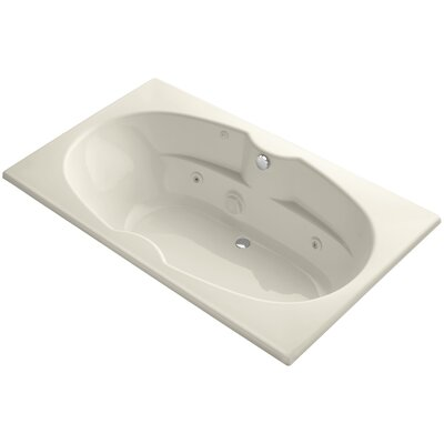 Proflex 72 x 42 Whirlpool Bathtub Finish: Almond